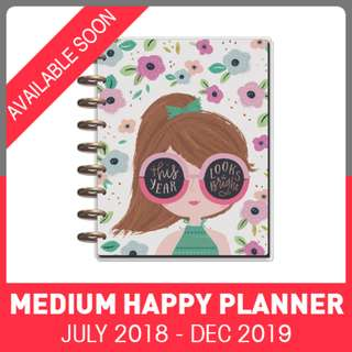 2018 - 2019 Classic Happy Planner - Squad Goals