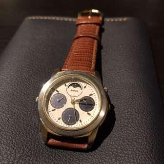 Seiko 精工錶 Avenue 石英表 月相 日期月份 星期顯示 懷舊鐘錶 罕有 超新淨 約35 mm