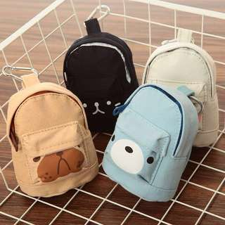 [PO] 2018 Korea Backpack Coin Pouches