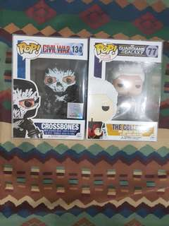 Funko Pop! Marvel Crossbones and The Collector