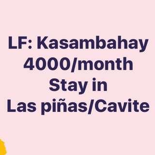 LOOKING FOR KASAMABAHAY