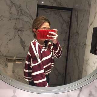 紅白條紋衣
