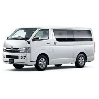 NEW TOYOTA HIACE RENTAL