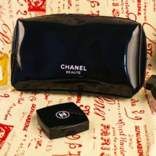 Chanel Beaute Glossy Makeup Pouch