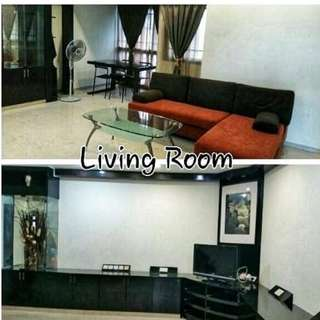 High Floor 5 Room Sengkang Unit for Rent