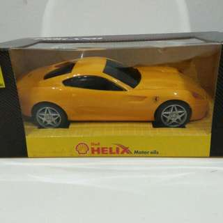 Shell Ferrari 599 GTB Fiorano car diecast model