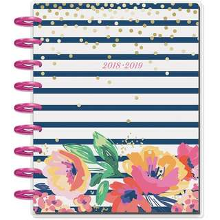 (PO) 2018 - 2019 Classic Happy Planner - Garden Party