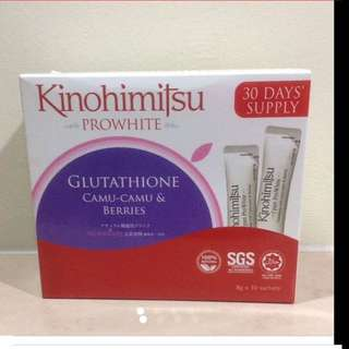 Kinohimitsu ProWhite 30 Days Supply (Brand New & Sealed)