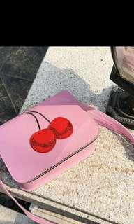 (PO) Ladies Double Cherry Bagq