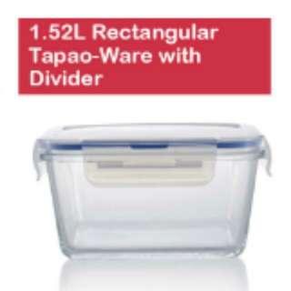 🆕Qucina® 1.52L Rectangular with Divider