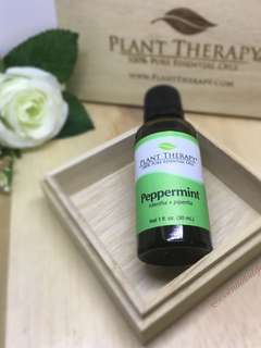 Plant Therapy: Peppermint Essential Oil (30ml)