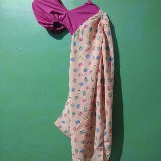 Hijab Instan Motif Owl