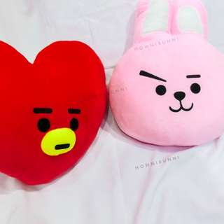 [Readystock] BT21 COOKY & TATA Pillow