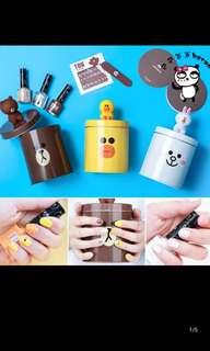 PO Line nail polish kit