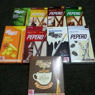 PEPERO korea's number 1 brand
