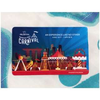 Prudential Marina Bay Carnival Games Card ($20 Stored Value)