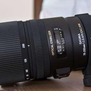 Sigma 70 200 2.8 OS Canon