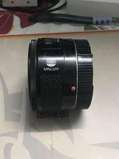 Minolta Maxxum 50mm 1.7