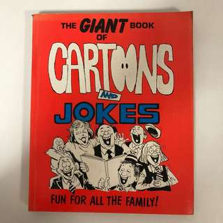 1989 Cartoons and Jokes Book (206 pages)