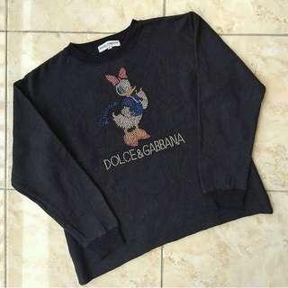 Dolce&Gabbana Daisy Duck Sweatshirt