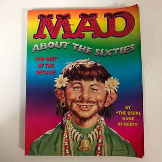 1995 MAD About The Sixties Book