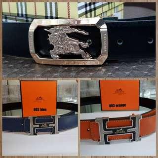 Ferragamo & Hermes Belt
