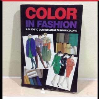 (From USA) Colour In Fashion Book