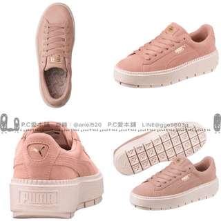 韓國連線預購PUMA粉色休閒鞋