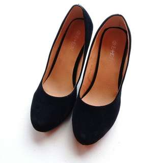 WOMEN'S HIGH HEELED CLOSED ROUND TOE OFFICE SHOES / HIGH HEELED PUMPS