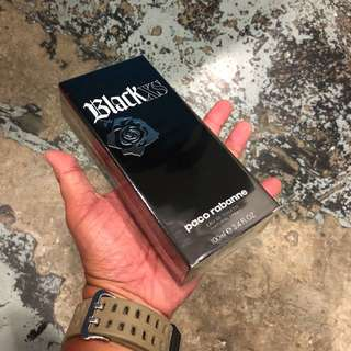 Authentic Original Paco Rabanne Black XS Perfume 100ml Limited Stock First Come First Served 😎👍