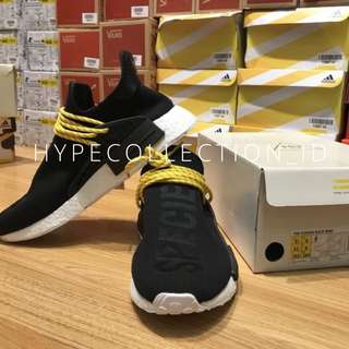 7b05305537974 Adidas NMD Human Spesies Black X Pharrel Human Race GENUINE BOOST BASF