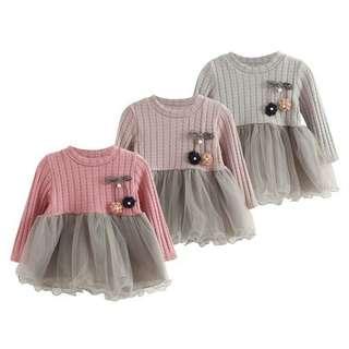 Kids long sleeve dress