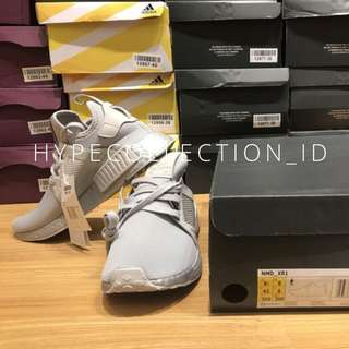 Adidas NMD XR1 Tripple Grey GENUINE BASF ADIDAS BOOST