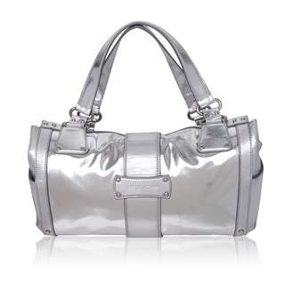 Sergio Rossi Metallic Shoulder Bag