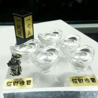 999純銀元寶🌹一定贏
