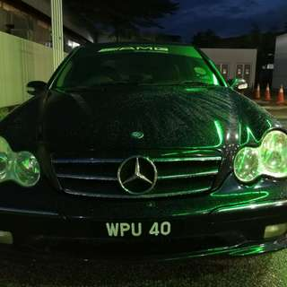 2007 Mercedes Benz W203 AMG C240 V6