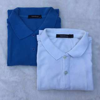 F&H Polo Shirt Small - 2pcs for 350