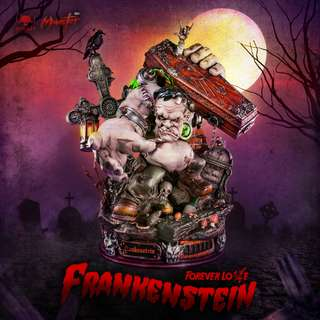 Toylaxy Frankenstein Love Forever Premium Limited Edition Collectible Statue