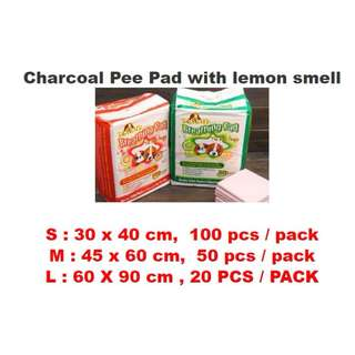 PREMIUM QUALITY Charcoal Pet pee pad