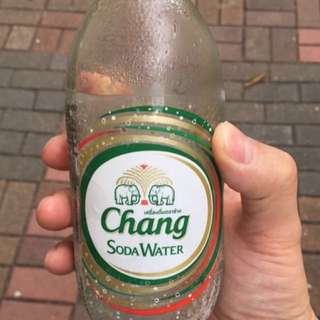 Chang soda water/泰國有氣水
