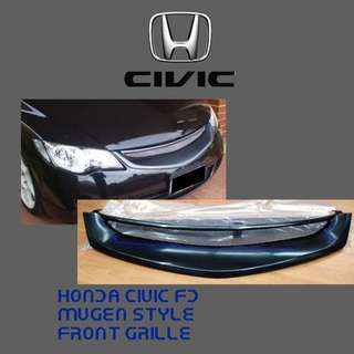 HONDA CIVIC FD MUGEN STYLE FRONT GRILLE
