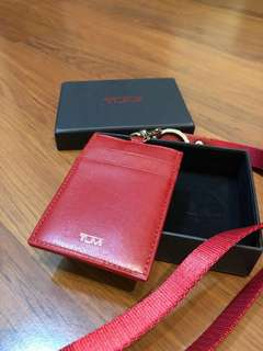Tumi Lanyard Red Color, SN 14121