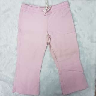 AUTHENTIC Guess Stretch Cotton Pink Magenta Jogging Pants