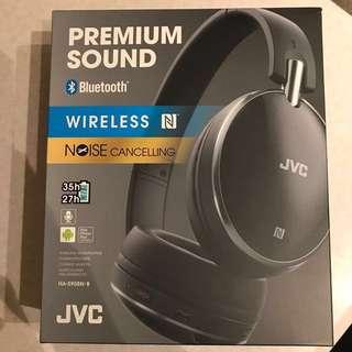 JVC Noise Canceling On-Ear Bluetooth Headphones