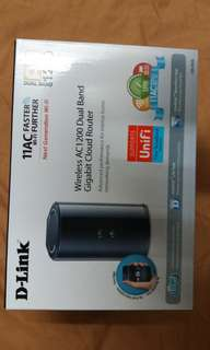 Selling my d-link router