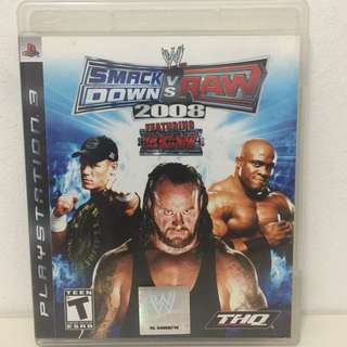 Ps3 Wwe Smack Down Vs Raw 2008