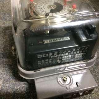 🚚 🇯🇵1981年日本製電錶 東芝電材株式會社