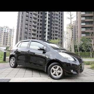 全額貸專區~2009年豐田YARIS 1.5 省油小車 可履約保證無重大事故泡水