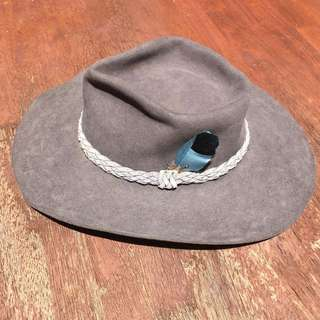 Akubra Down Under Felt Hat size 56