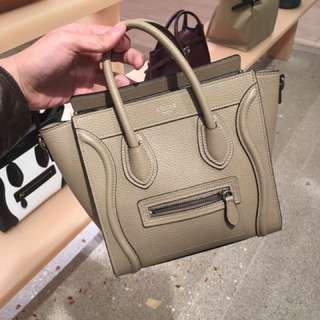 Celine luggage case bag